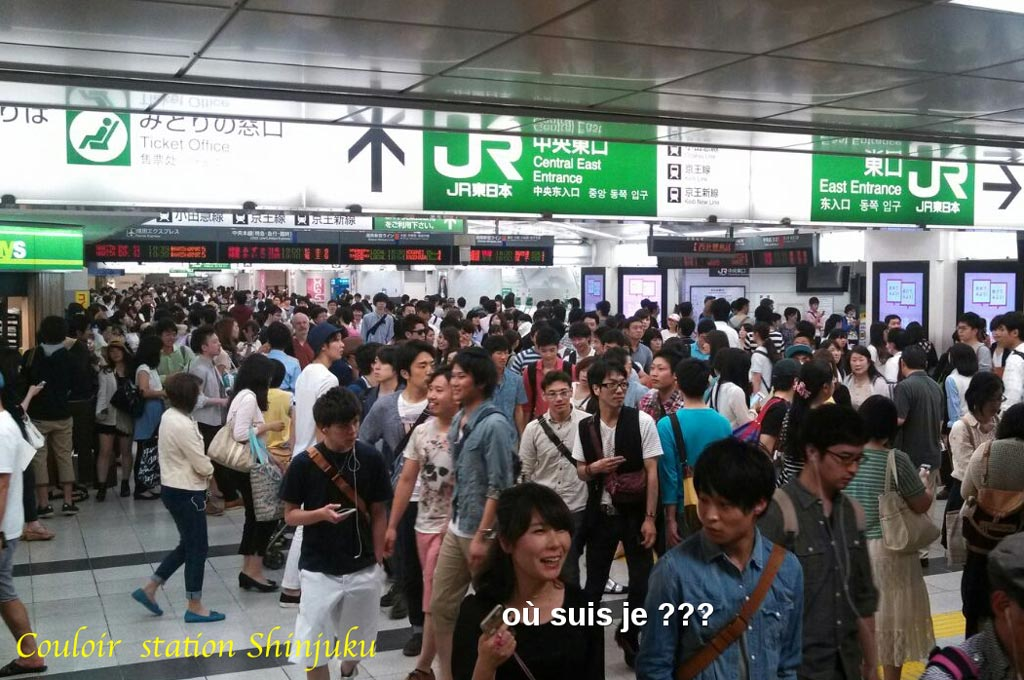 Station Shinjuku - Photo Japon